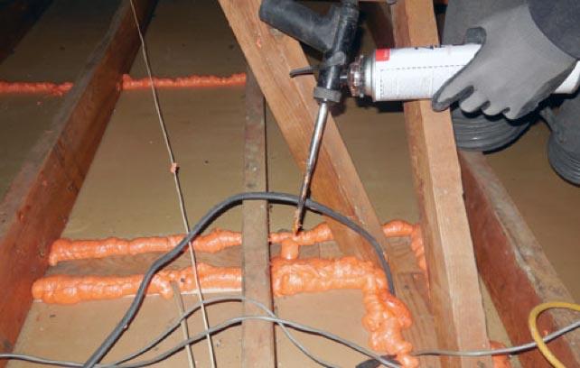 Air Sealing - Sealing Cracks - GreenServe